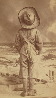 Photograph - Tom Sawyer At The Beach by Paul Ashby Antique Image
