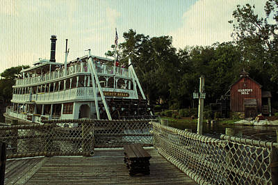 Photograph - Tom Sawyers Boat by Laurie Perry