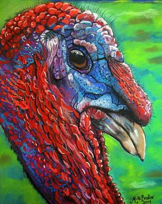 Tom Turkey Art Print
