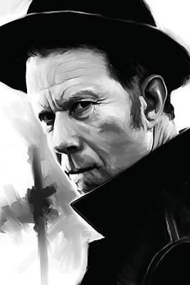 Tom Waits Painting - Tom Waits Artwork 1 by Sheraz A