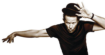 Tom Waits Artwork  4 Art Print