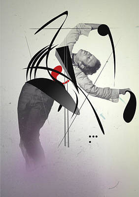 Logic Digital Art - Tom Waits by PandaGunda
