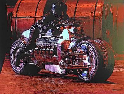 Photograph - Tomahawk Superbike by John Schneider
