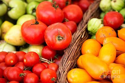 Photograph - Tomatillos by Rebecca Cozart