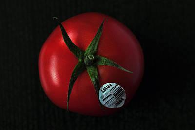Photograph - Tomato  by Dragan Kudjerski