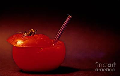 Art Print featuring the photograph Tomato Juice by Sharon Elliott