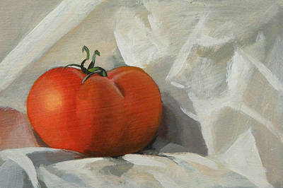 Painting - Tomato by Peter Orrock