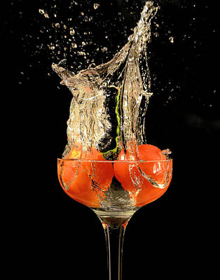 Photograph - Tomato Splash by Thomas Born