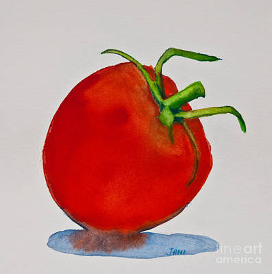 Painting - Tomato Study by Jani Freimann