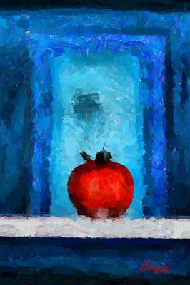 Tomato Tnm Art Print by Vincent DiNovici