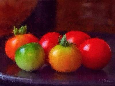 Painting - Tomato Tomahto by Sandy MacGowan