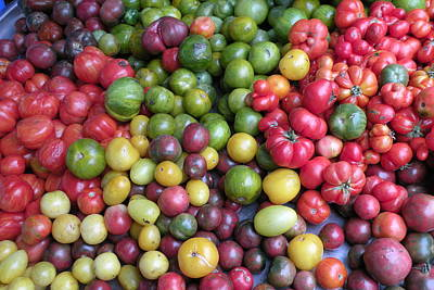 Photograph - Tomatoes by Brian Chase
