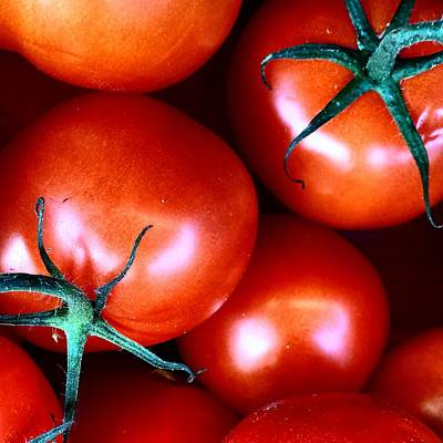 Yummy Photograph - Tomatoes by Jason Michael Roust