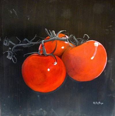 Painting - Tomatoes by Richard Le Page
