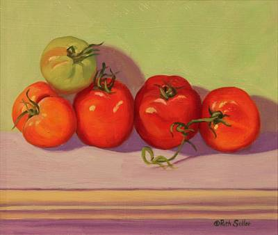 Painting - Tomatoes by Ruth Soller
