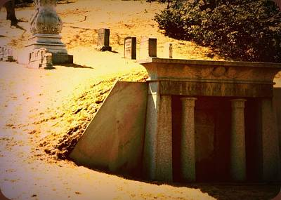 Photograph - Tomb In The Hinnom by Donna Walsh