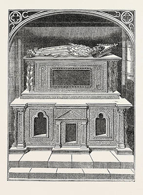 Westminster Abbey Drawing - Tomb Of Henry IIi, In Westminster Abbey, London by Litz Collection