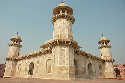 Tomb Photograph - Tomb Of Itimad-ud-daulah (baby Taj by Inger Hogstrom