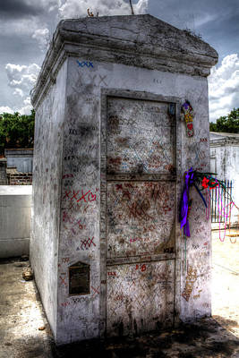 Photograph - Tomb Of Marie Laveau by Greg and Chrystal Mimbs