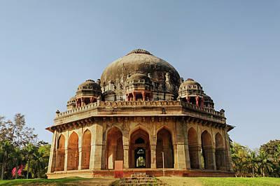 Tomb Of Mohammed Shah / Lodhi Gardens Art Print by Adam Jones