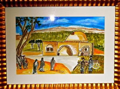 Tomb Of Rachel Print by Abe Shainberg
