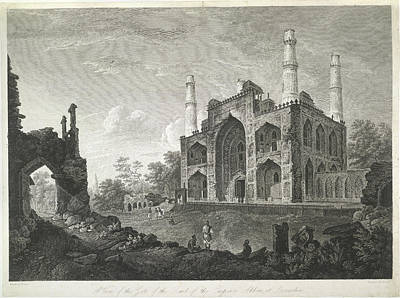 Tomb Photograph - Tomb Of The Emperor Akbar by British Library