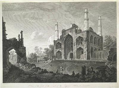 Tomb Of The Emperor Akbar Art Print