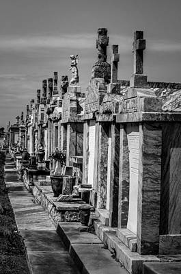 Photograph - Tombs In A Row by Andy Crawford