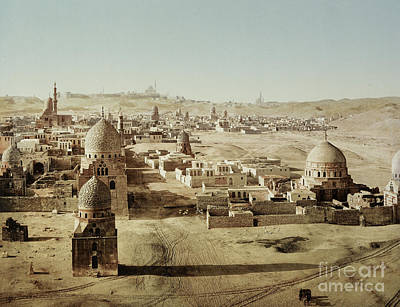 Photograph - Tombs Of The Mamelukes, Cairo, Egypt by Getty Research Institute