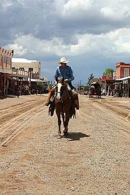 Photograph - Tombstone Arizona Territory by Joe Kozlowski