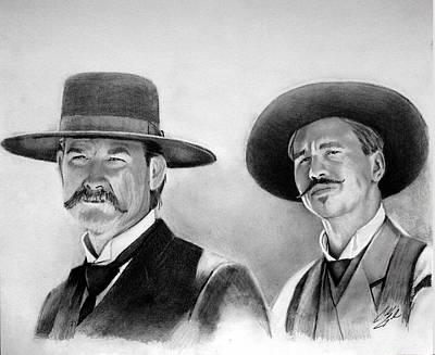 Tombstones Wyatt And Doc Original