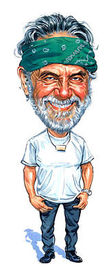 Comics Royalty-Free and Rights-Managed Images - Tommy Chong by Art