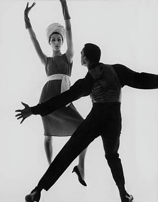 Photograph - Tommy Johnson by Bert Stern
