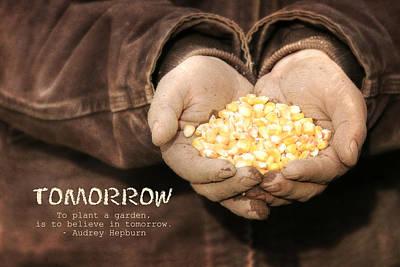 Farming Digital Art - Tomorrow by Lori Deiter