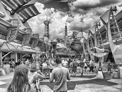 Photograph - Tomorrowland by Howard Salmon