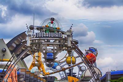 Photograph - Tomorrowland by Nicholas Evans