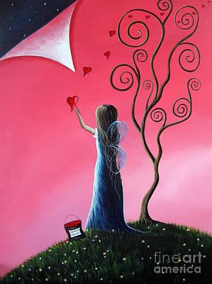 Tomorrow's Promises Are A Dream Away By Shawna Erback Art Print by Shawna Erback
