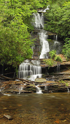 Photograph - Toms Branch Falls by Harold Rau