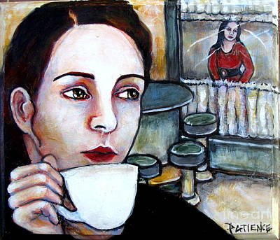 Painting - Tom's Diner by Patience A