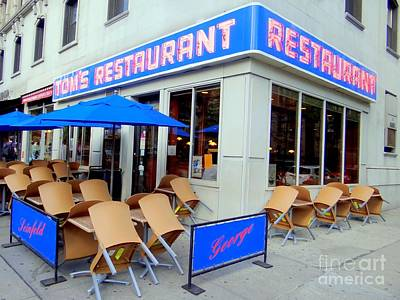 Photograph - Tom's Restaurant by Ed Weidman
