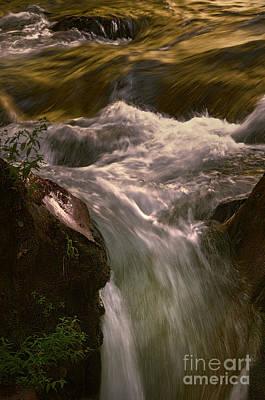 Photograph - Toned Waterfall by Sharon Seaward