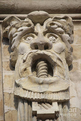 Photograph - Tongue Twister Gargoyle by Mary-Lee Sanders