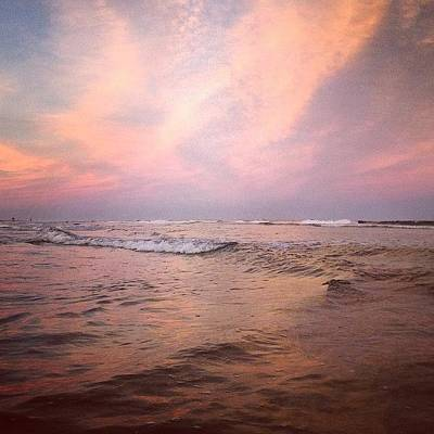 Photograph - Tonight. The Air Is Fresh, The Ocean by Katie Cupcakes
