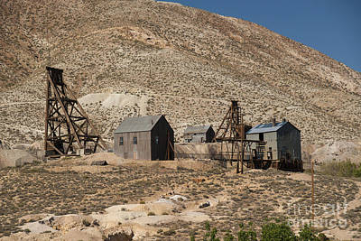 Tonopah Photograph - Tonopah Historic Mining Camp by Richard & Ellen Thane