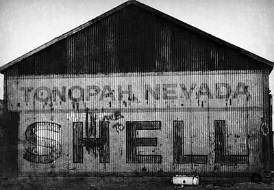 Photograph - Tonopah Shell by Gail Lawnicki