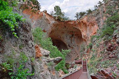 Frontier Photograph - Tonto Natural Bridge Az by Christine Till
