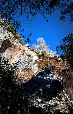 Photograph - Tonto Natural Bridge View by Lee Craig