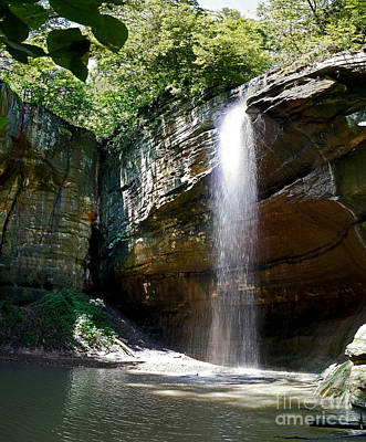 Photograph - Tonty Waterfall Secluded Valley by Pete Klinger
