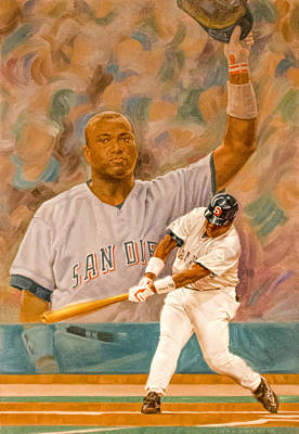 Digital Art - Tony Gwynn by Photographic Art by Russel Ray Photos