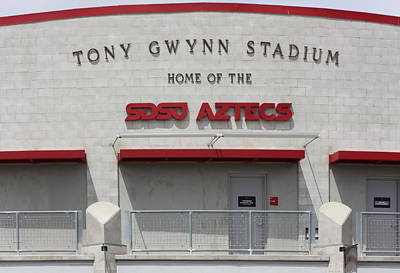 Digital Art - Tony Gwynn Stadium Sdsu by Photographic Art by Russel Ray Photos